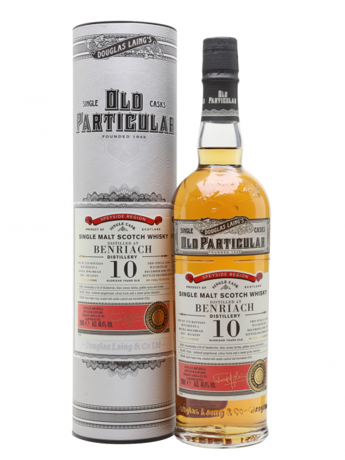 BENRIACH 2008 10 YEARS OLD PARTICULAR