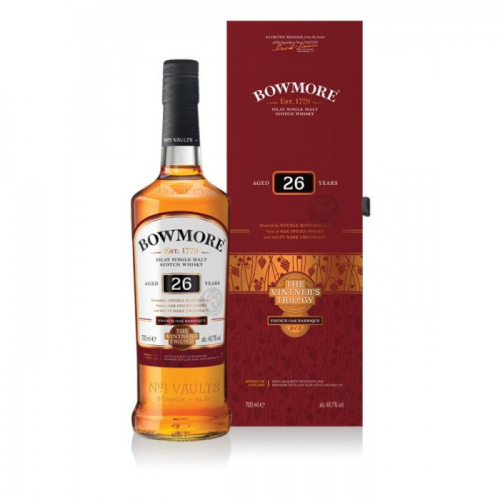 BOWMORE 26 YEARS FRENCH OAK BARRIQUE