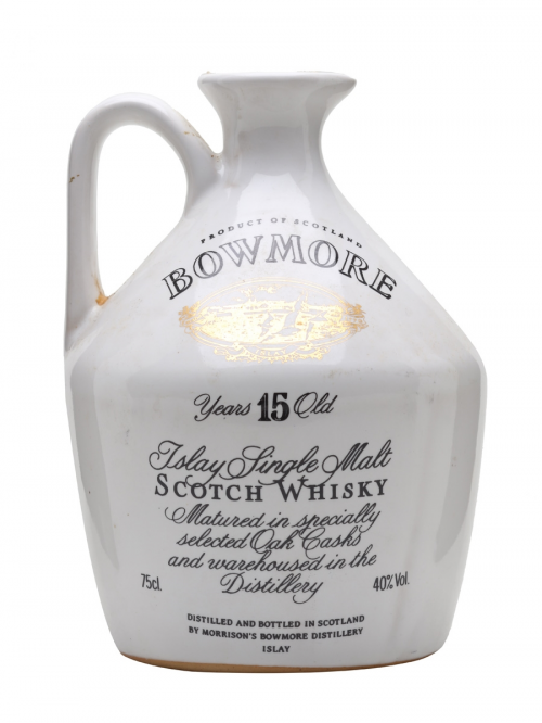 BOWMORE 15 YEARS GLASGOW GARDEN CERAMIC (1988)