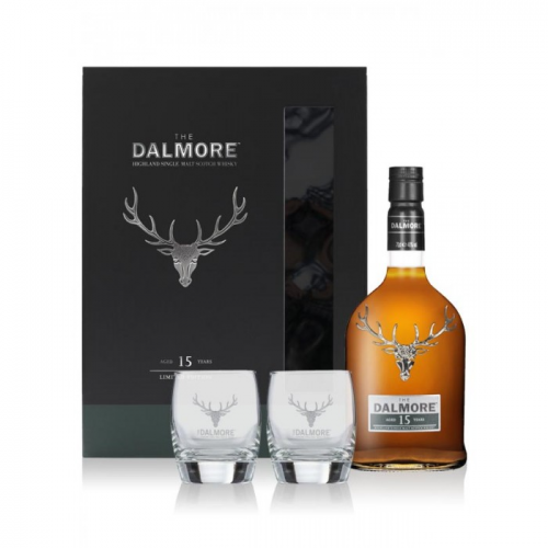 THE DALMORE 15 YEARS GIFT SET
