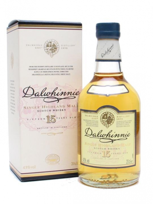 DALWHINNIE 15 YEARS SMALL BOTTLE
