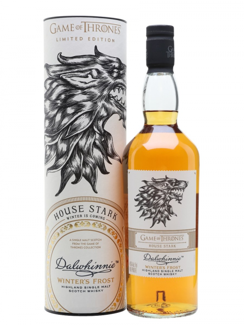 DALWHINNIE WINTERS FROST GAME OF THRONES HOUSE STARK single malt
