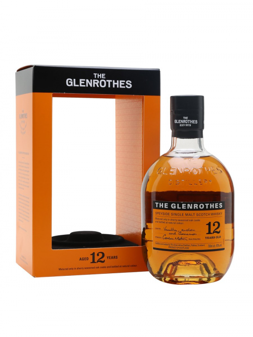 GLENROTHES 12 YEARS single malt