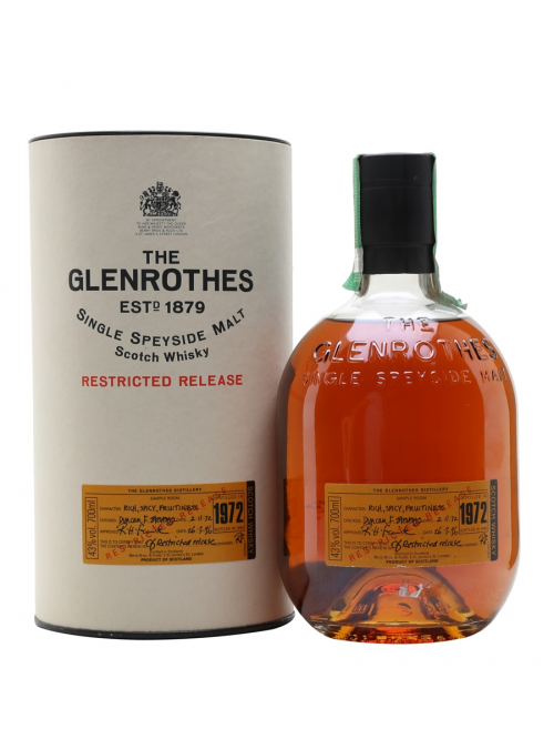 GLENROTHES 1972 23 YEARS