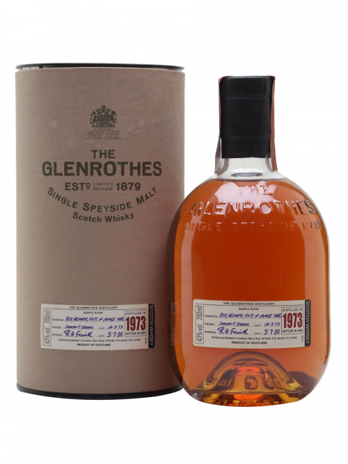 GLENROTHES 1973 27 YEARS