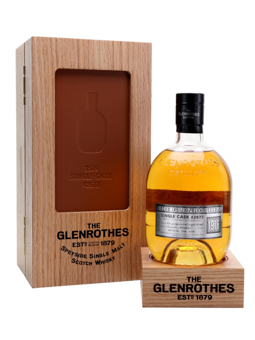 GLENROTHES 1976 SINGLE CASK #2677 UK EXCLUSIVE
