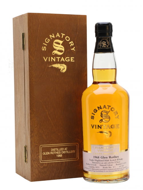 GLENROTHES 1968 32 YEARS SIGNATORY