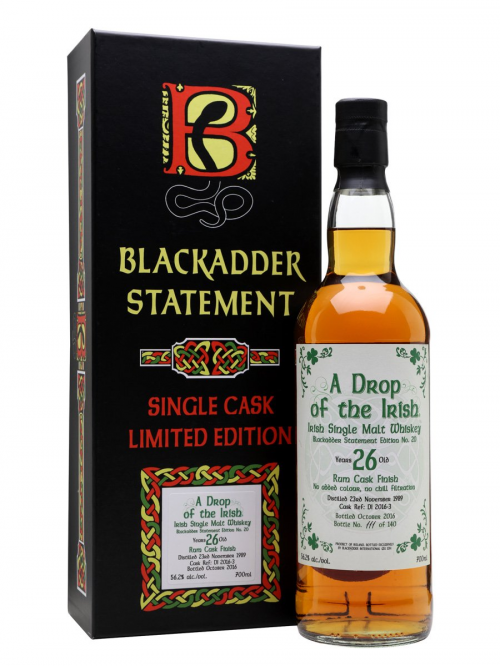 A DROP OF THE IRISH 1989 26 YEARS BLACKADDER STATEMENT 20