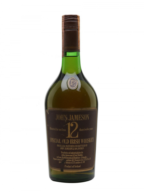 JAMESON 12 YEARS BOT.1970S