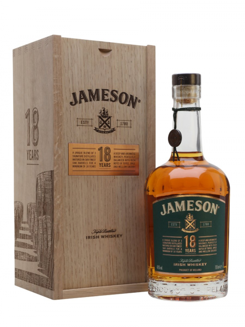 JAMESON 18 YEARS 2018 RELEASE