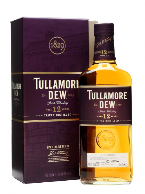 TULLAMORE DEW 12 YEARS SPECIAL RESERVE