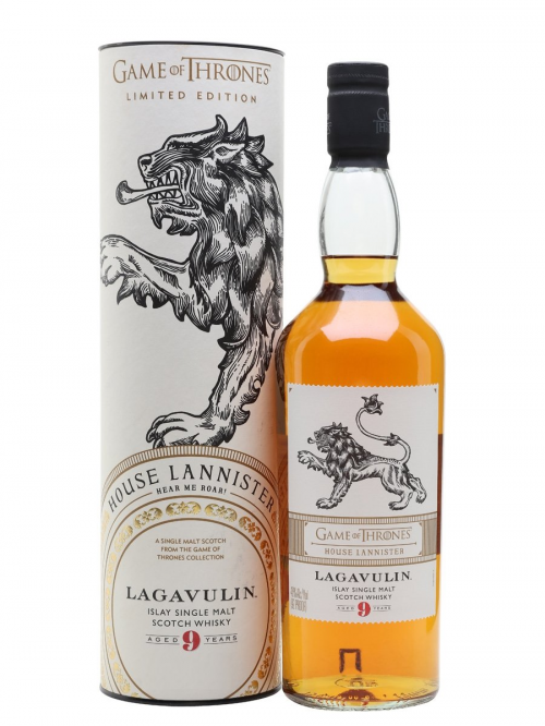 LAGAVULIN 9 YEARS GAME OF THRONES HOUSE LANNISTER single malt
