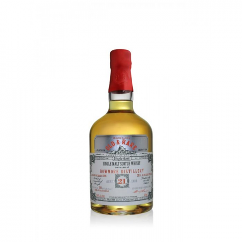 BOWMORE 21 YEARS PLATINUM OLD & RARE