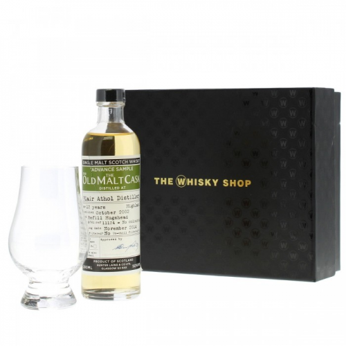 BLAIR ATHOL 12 YEARS OLD MALT CASK WITH GLASS