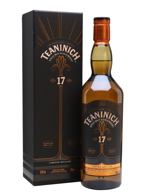 TEANINICH 17 YEARS single malt