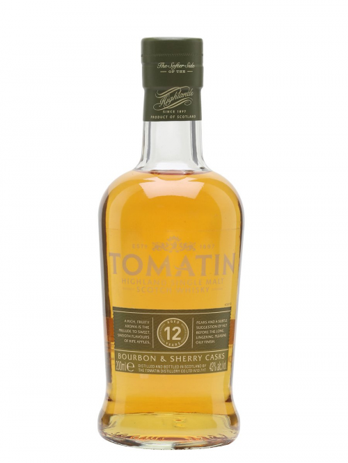 TOMATIN 12 YEARS SMALL BOTTLE