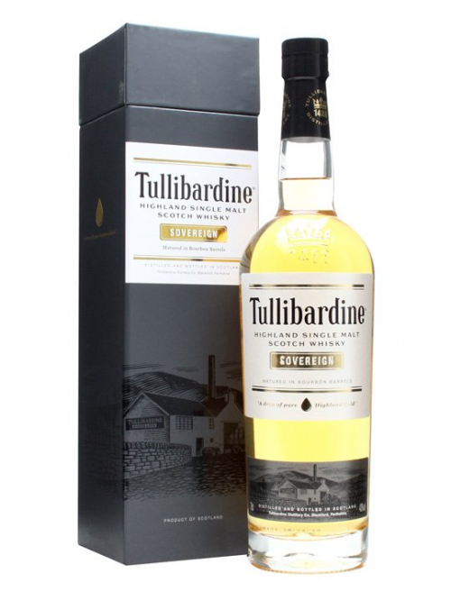 TULLIBARDINE SOVEREIGN single malt