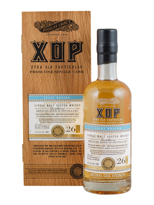 BRUICHLADDICH 26 YEARS 1989-2015 XOP single malt