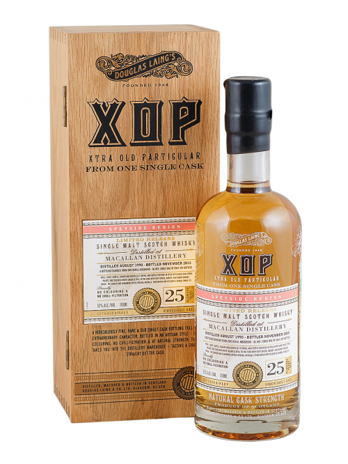 MACALLAN 25 YEARS 1990-2015 XOP single malt