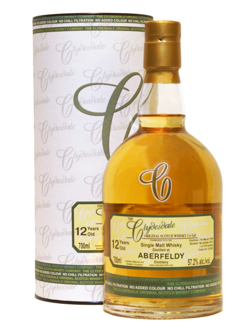 ABERFELDY 12 YEARS 1997-2009 CLYDESDALE single malt