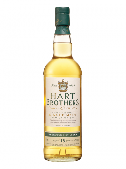 ABERLOUR 15 YEAR 1992 - 2007 HART BROTHERS  SINGLE MALT