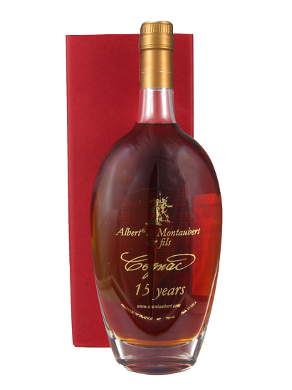 ALBERT DE MONTAUBERT XO 15 YEARS