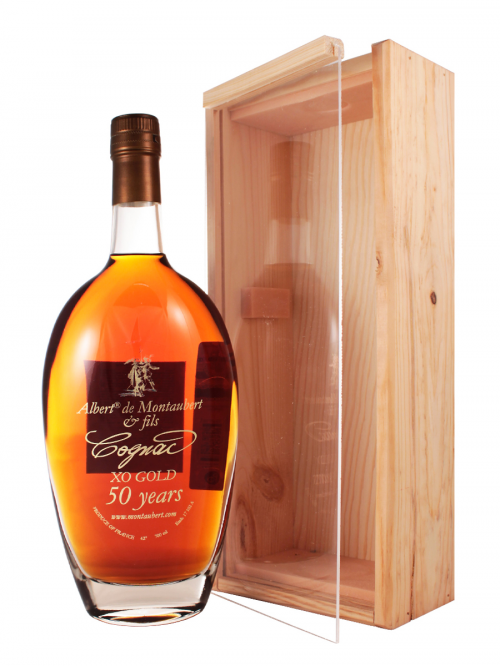 ALBERT DE MONTAUBERT XO DECANTER 50 YEARS