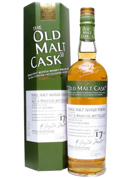 ALLT-A-BHAINNE 17 YEARS 1991-2008 OMC single malt