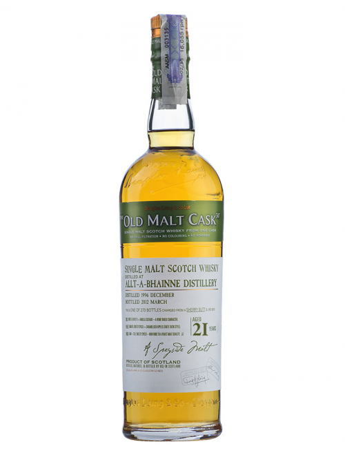 ALLT-A-BHAINNE 21 YEAR  1991 - 2012 OLD MALT CASK SINGLE MALT
