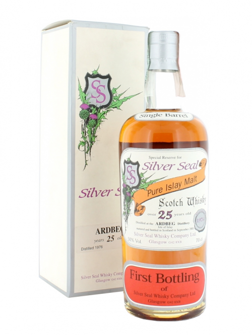 Ardbeg 25 Year Old 1976–2001 Silver Seal
