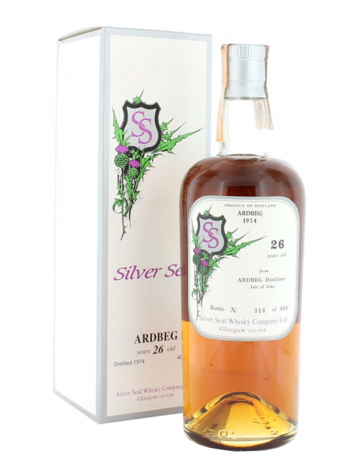 ARDBEG 26 YEAR OLD 1974 - 2001 SILVER SEAL