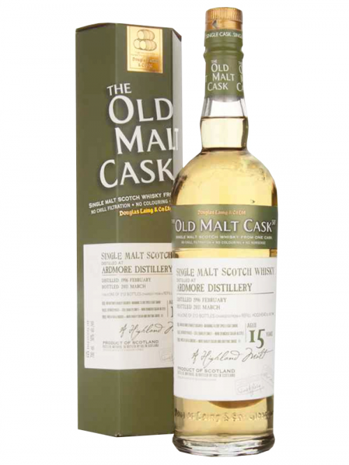 ARDMORE 15 YEAR  1996 OLD MALT CASK SINGLE MALT