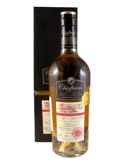 ARDMORE 17 YEAR 1992 CHIEFTAINS SINGLE MALTS