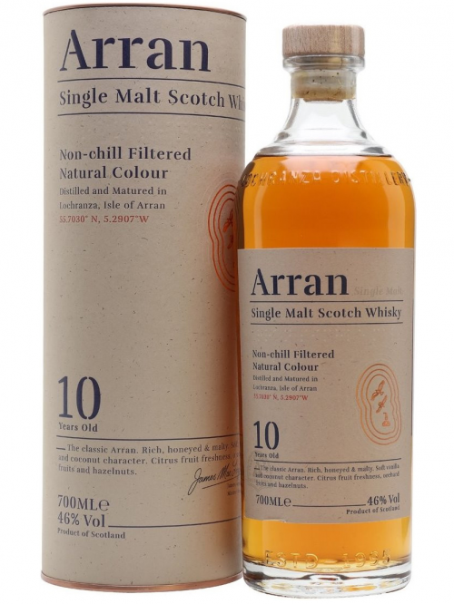 ARRAN 10 YEARS single malt