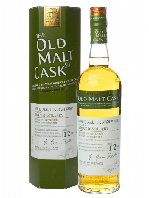 Arran 12 Year Old 1996–2008 Old Malt Cask