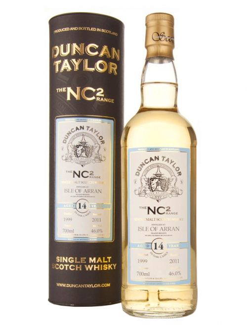 ARRAN 14 YEARS 1996-2010 NC2 single malt