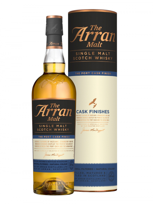 ARRAN 10 YEARS PОRT CASK FINISH single malt