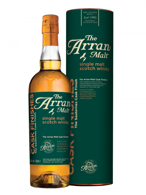 ARRAN 10 YEARS SAUTERNES CASK FINISH single malt