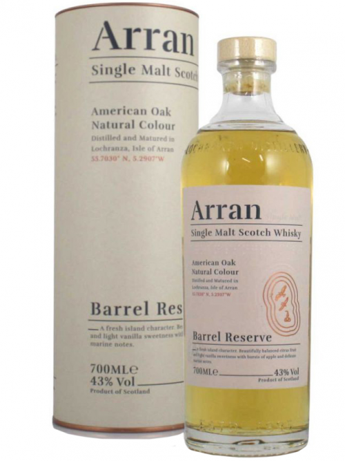 ARRAN BARREL RESERVE single malt