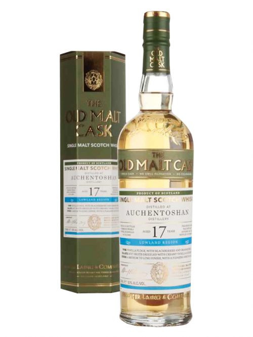 AUCHENTOSHAN 17 YEAR 1990 - 2007 OLD MALT CASK  SINGLE MALT