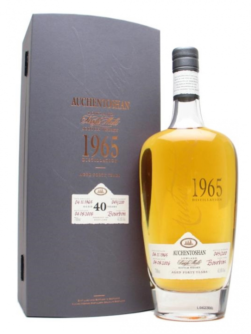 AUCHENTOSHAN 40 YEAR OLD 1965 - 2006 BOURBON CASK