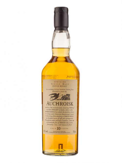 AUCHROISK 10 YEARS FLORA&FAUNA single malt