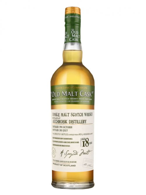 AUCHROISK 18 YEARS 1994-2012 OMC single malt