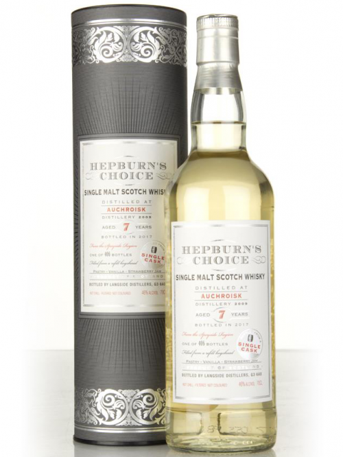 AUCHROISK 7 YEARS HEPBURN'S CHOICE single malt