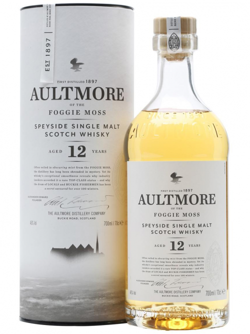 AULTMORE 12 YEARS FOGGIE MOSS single malt