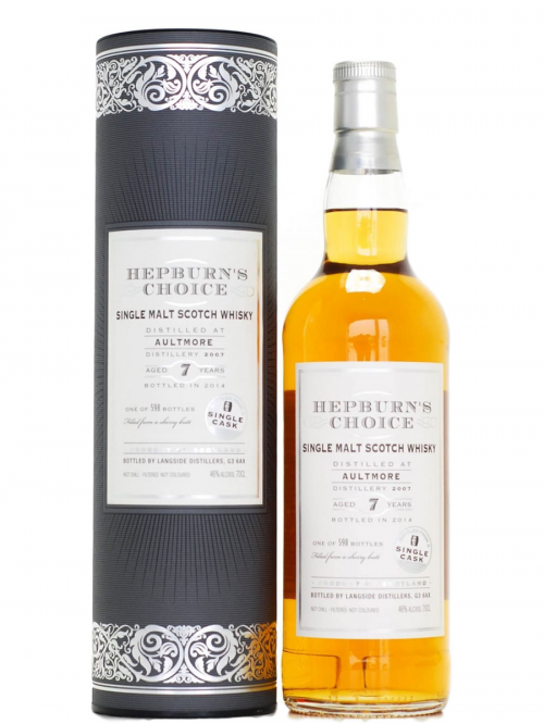 AULTMORE 7 YEARS HEPBURN'S CHOICE single malt