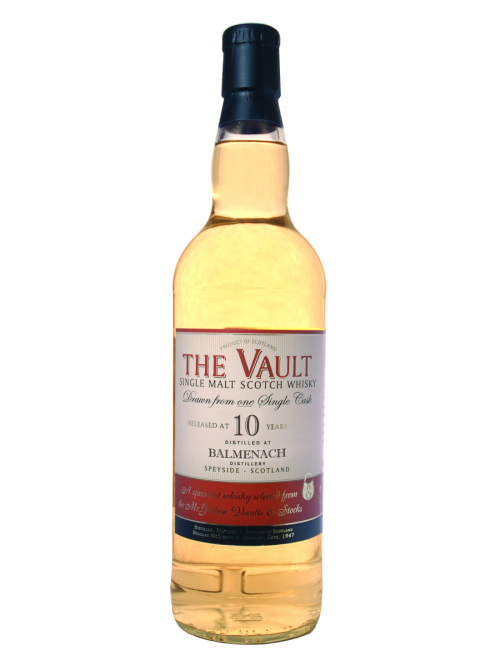 BALMENACH 10 YEARS 2003-2013 VAULT single malt
