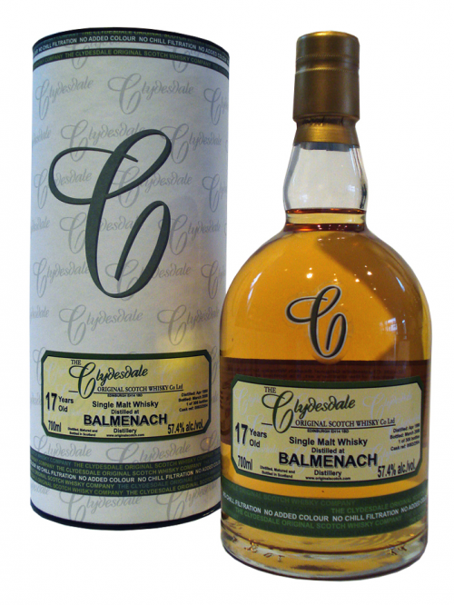 BALMENACH 17 YEAR 1990 RAW CASK SINGLE MALT