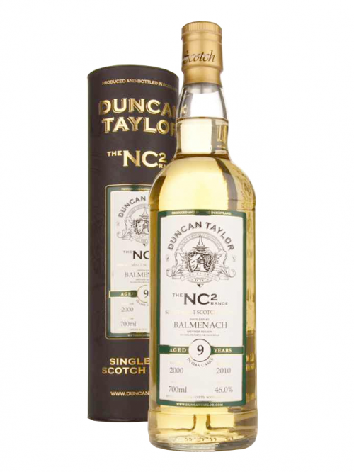 BALMENACH 9 YEAR 2000 - 2009 NC2 RANGE  SINGLE MALT