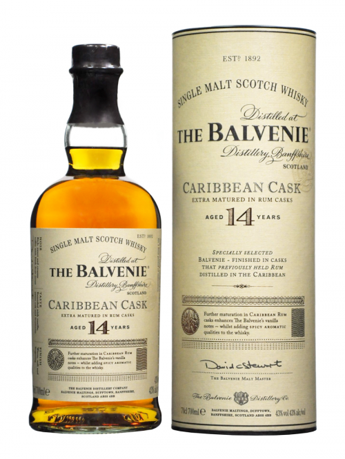 BALVENIE 14 YEARS CARIBBEAN CASK single malt